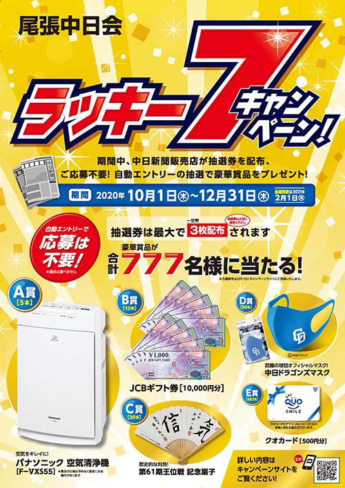 ラッキー7キャンペーン詳細1