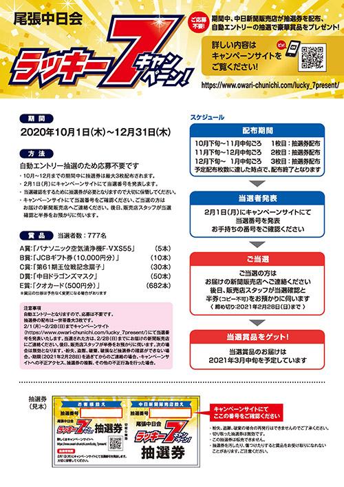 ラッキー7キャンペーン詳細2